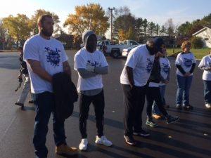 Jason Spriggs, Makington Dorleant, and Christian Ringo Packers  Hometown Huddle