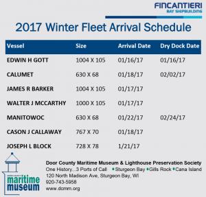 winter-fleet-schedule