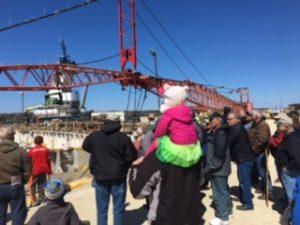 Tour Group At Bay Shipbuilding